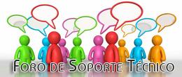 Resuelve tus dudas en el foro soporte técnico