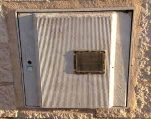 Puertas armarios de gas openclima online - Armario exterior caldera gas ...