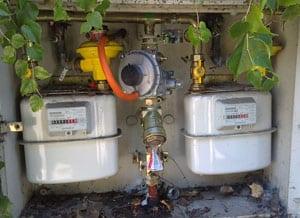 Armario contadores de gas
