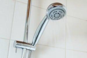 Difusor de ducha de agua caliente