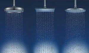 Varias duchas a la vez