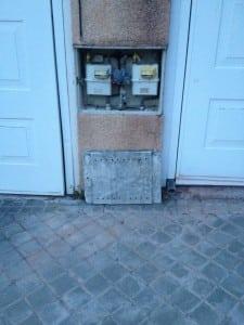 Puerta del gas