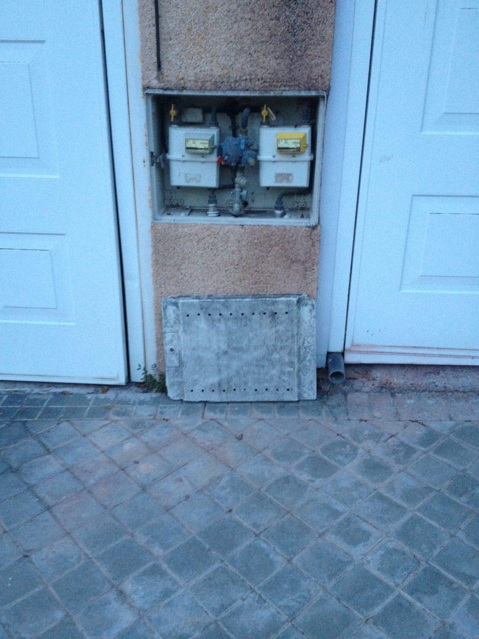 Puerta del gas, siempre en buen estado