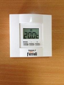 Termostato Sencillo para Calefacción