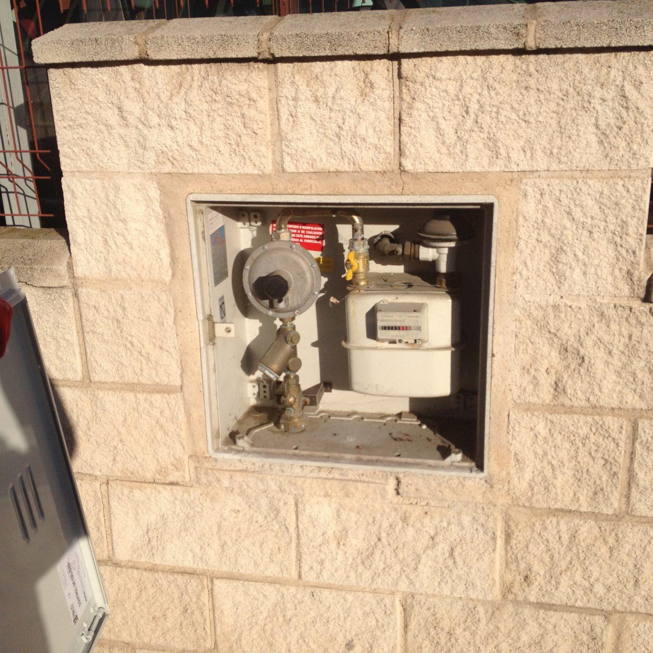 Puertas universales para armarios del gas