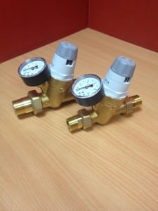 Válvulas reductoras de presión de agua