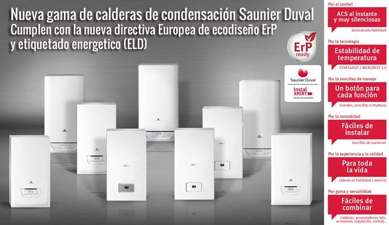 Saunier Duval Nuevas Calderas ErP