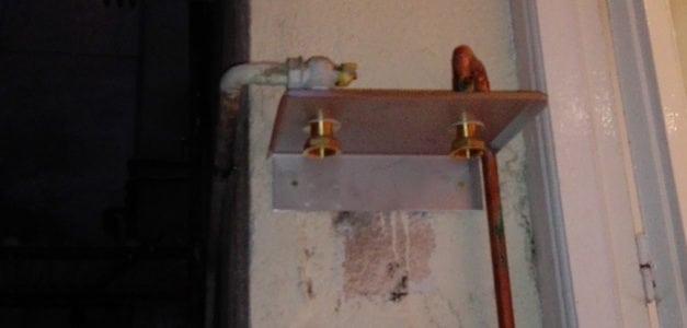 Soportes para contadores de gas