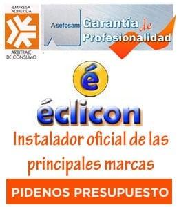 Eclicon, instalador oficial de las principales marcas