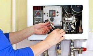 mantenimiento de caldera de gas