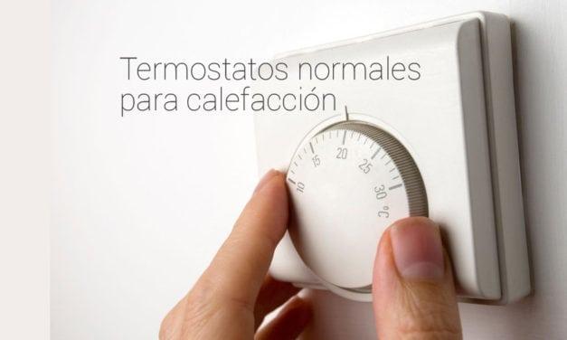 Termostatos Normales de Calefacción