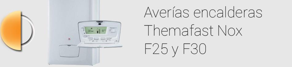 Averías Themafast Nox F 25 y F 30