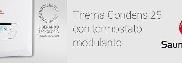 Thema Condens 25 y los termostatos modulantes