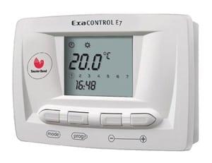 Cronotermostato con programacion Exacontrol 7