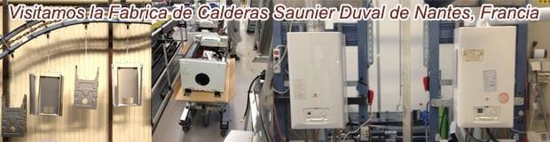 Fabricación de una Caldera  Saunier Duval