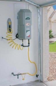Compresor Gas Vehicular instalado en casa