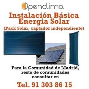 Instalación Energia Solar