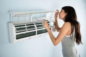 Limpieza de filtros aire acondicionado