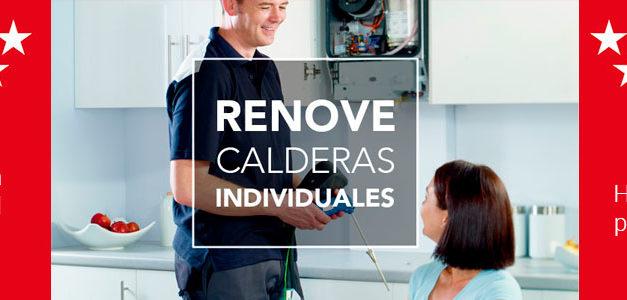 Calderas y Calentadores subvencionados en el Plan Renove 2019 Madrid
