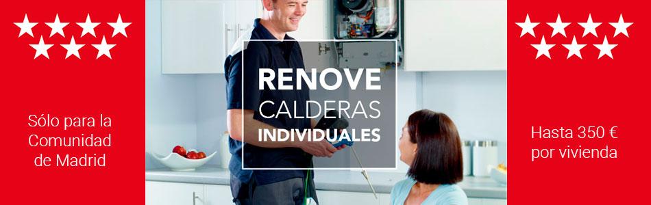 Plan Renove de calderas y Calentadores 2019 Madrid