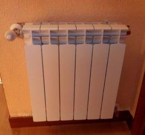 Radiadores de calefacción de aluminio inyectado