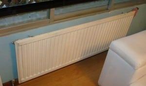 Radiadores de calefacción de paneles de chapa