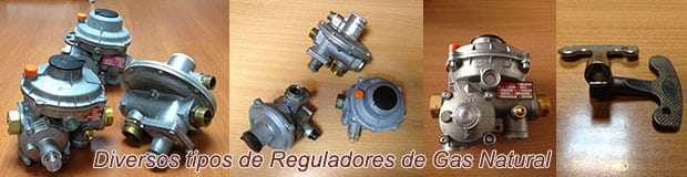 Reguladores de Gas Natural