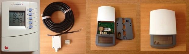 Termostatos ambiente para regular el consumo de la calefacción